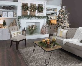 Inspiring indoor rustic christmas décoration ideas 14 14