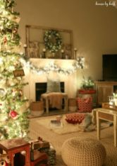 Inspiring indoor rustic christmas décoration ideas 4 4