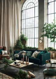 Inspiring indoor rustic christmas décoration ideas 43 43
