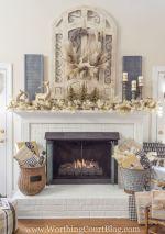 Inspiring indoor rustic christmas décoration ideas 49 49