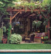 Lovely patio outdoor space ideas on a minimum budget (51)