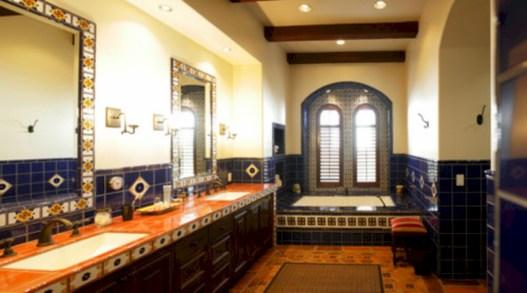 Mediterranean themed bathroom designs ideas 16