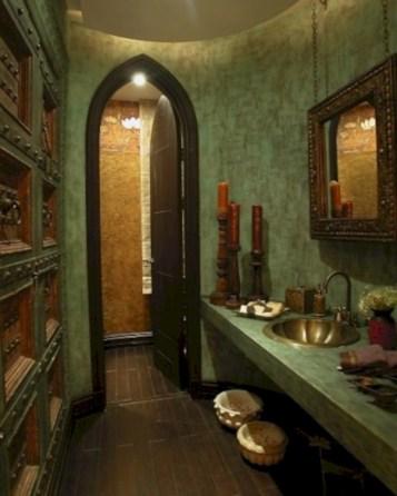 Mediterranean themed bathroom designs ideas 22