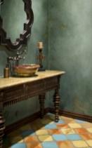 Mediterranean themed bathroom designs ideas 49