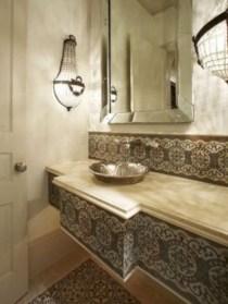 Mediterranean themed bathroom designs ideas 52