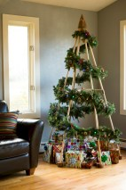 Minimalist and modern christmas tree décoration ideas 16