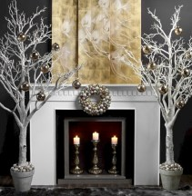 Minimalist and modern christmas tree décoration ideas 23