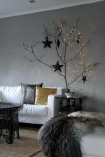 Minimalist and modern christmas tree décoration ideas 32