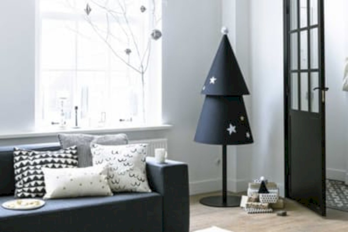 51 Minimalist And Modern Christmas Tree Décoration Ideas