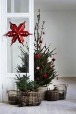 Minimalist and modern christmas tree décoration ideas 42
