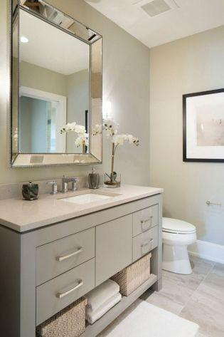 Modern bathroom remodel ideas you should try (12)