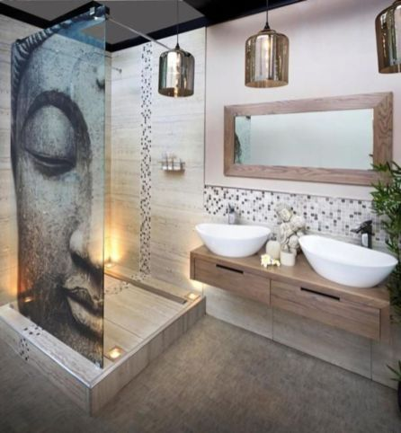 Modern bathroom remodel ideas you should try (38)