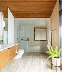 Modern bathroom remodel ideas you should try (9)