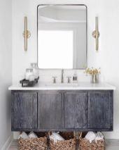 Modern bathroom with floating sink decor (49)