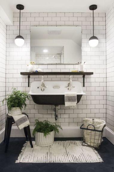 Modern bathroom with floating sink decor (53)