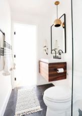 Modern bathroom with floating sink decor (8)