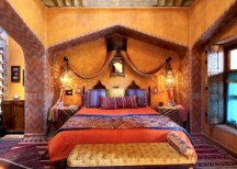 Moroccan themed bedroom design ideas 28