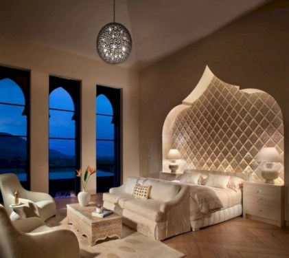 Moroccan themed bedroom design ideas 34