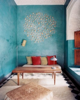 Moroccan themed bedroom design ideas 35