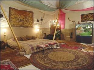 Moroccan themed bedroom design ideas 48