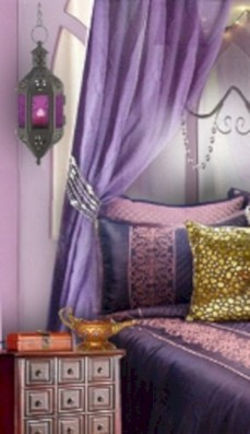Moroccan themed bedroom design ideas 52