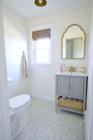 Paint colors farmhouse bathroom ideas (27)
