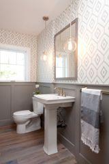 Paint colors farmhouse bathroom ideas (28)