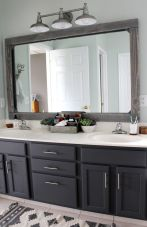Paint colors farmhouse bathroom ideas (36)