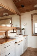 Paint colors farmhouse bathroom ideas (41)