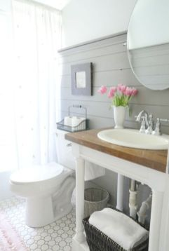 Paint colors farmhouse bathroom ideas (5)