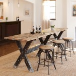 Rectangular folding outdoor dining tables design ideas 10