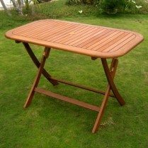 Rectangular folding outdoor dining tables design ideas 16