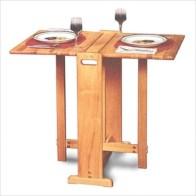 Rectangular folding outdoor dining tables design ideas 23