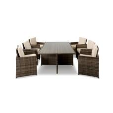 Rectangular folding outdoor dining tables design ideas 44