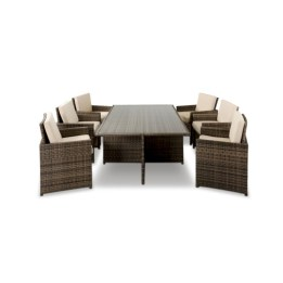 Rectangular folding outdoor dining tables design ideas 44