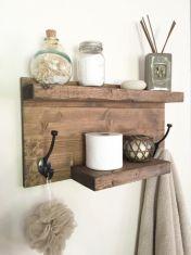Rustic diy bathroom storage ideas (1)