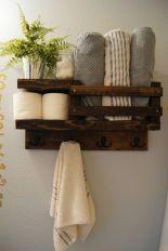 Rustic diy bathroom storage ideas (14)