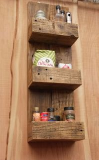 Rustic diy bathroom storage ideas (18)