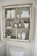Rustic diy bathroom storage ideas (43)