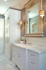 Rustic diy bathroom storage ideas (5)