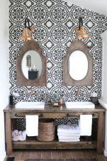 Rustic farmhouse bathroom ideas you will love (11)