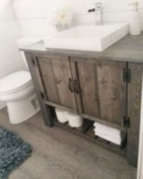 Rustic farmhouse bathroom ideas you will love (27)