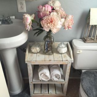 Rustic farmhouse bathroom ideas you will love (32)