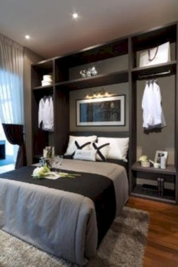 Scandinavian bedroom ideas for small apartment 08