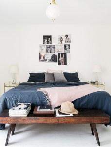 Scandinavian bedroom ideas for small apartment 13