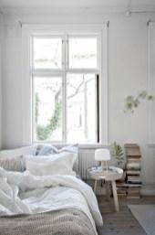 Scandinavian bedroom ideas for small apartment 17