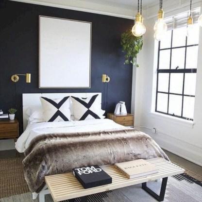 Scandinavian bedroom ideas for small apartment 18