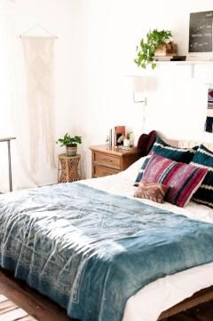 Scandinavian bedroom ideas for small apartment 21