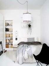 Scandinavian bedroom ideas for small apartment 22