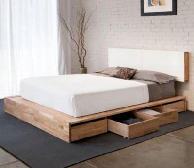 Scandinavian bedroom ideas for small apartment 26